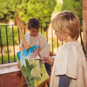 """Visita-taller per públic infantil """"Converteix-te en un pintor romàntic"""""""