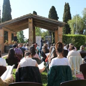 Paraules, poesia i llibres per la Diada de Sant Jordi a la Masia d'en Cabanyes