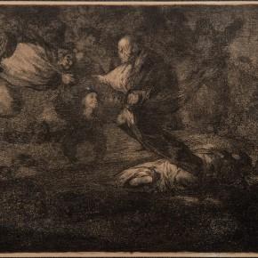 Disparate fúnebre [Proberbio Nº18. Dios los cría y ellos se juntan]