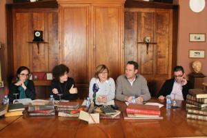 Roda de premsa presentació de llibres