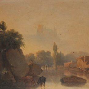El paisatgisme romàntic de Joaquim de Cabanyes