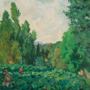 Atmosferes i sensacions de les pintures d'Alexandre de Cabanyes : El Brull o la tristesa del verd.