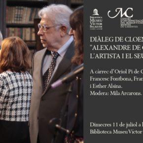 """Diàleg de cloenda: """"Alexandre de Cabanyes: l'artista i el seu context"""""""