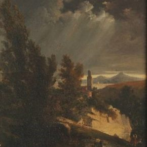 AVUI PARLEM: Paisatge de Joaquim de Cabanyes al Museu Víctor Balaguer (I)