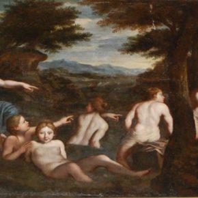Diana i l'embaràs de Calisto a la col·lecció  pictòrica de la Masia d'en Cabanyes