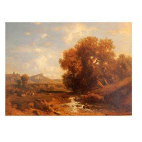 PAISATGE AMB RIEROL, Alphonse Robert