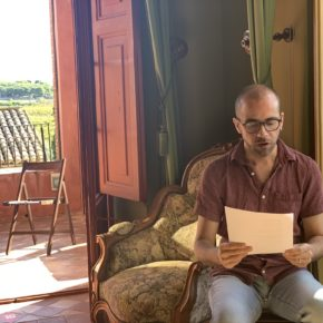 "Joan Duran Ferrer recita el poema ""La independència de la poesia"""