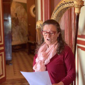 """María de la Paz Talegón recita """"Cançó de l'esclau"""""""