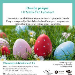 Ous de Pasqua a la Masia d'en Cabanyes