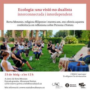 Ecologia: una visió no dualista, interconnectada i interdependent