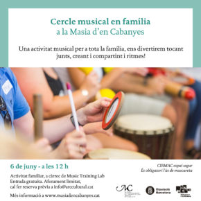 Cercle Musical en família a la Masia d'en Cabanyes!