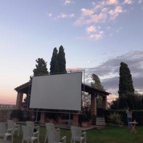 Cinema a la Fresca als Jardins de la Masia d'en Cabanyes