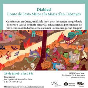 Diables! Conte de Festa Major als Jardins de la Masia d'en Cabanyes